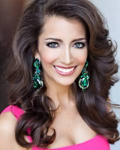 Miss California Marina Inserra in her official headshot for Miss America.