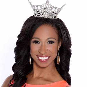 This is your Miss Delaware Brittany Lewis in her official headshot for Miss America.