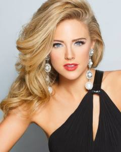 This is your Miss Georgia Maggie Bridges in her official Miss America Headshot.