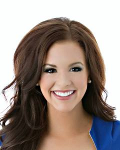 This is your Miss Idaho Sierra Sandison in her official headshot for Miss America.