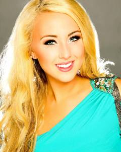 This is your Miss North Dakota in her official Miss America Headshot.