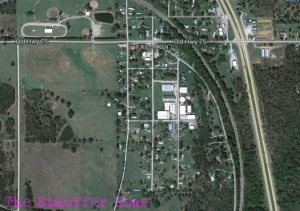 This is small town Preston, Oklahoma where I was born and raised!