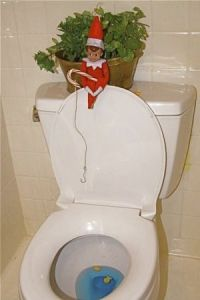 Mr. Elf do you have an Oklahoma State Fishing License on you?!