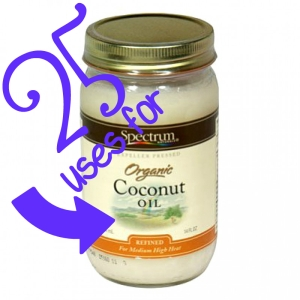 25 uses for #coconutoil