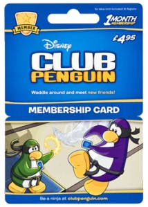 Disney PC Game Dowmload Card Large